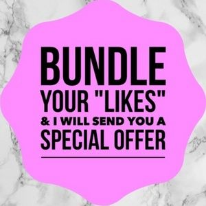 Discounted prices on bundles!!